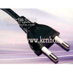两插韩国标准电源线图片