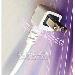 厂家供应白色日本两插电源线图片