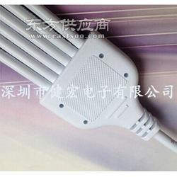 电源分流2芯一拖六LED路灯电源防水连接线优惠促销图片