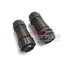 防水连接器面板式3芯M15 圆形连接器哪家好图片