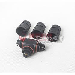 T型三通3芯防水接头M20螺丝式环保公母接头安全可靠图片