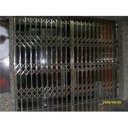 不锈钢拉闸门安装,拉闸门,睿鑫门窗(查看)图片