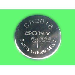 SONY索尼CR2016纽扣电池鋰锰电池图片