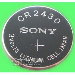 SONY索尼CR2430紐扣電池鋰錳電池圖片