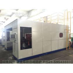 默邦机器人焊接工位安全防护焊房图片