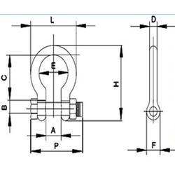 卸扣,D型U型卸扣,2013.2150.209.210图片