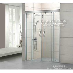 安琪诗DB-9102淋浴屏双活动一字型淋浴屏代理图片
