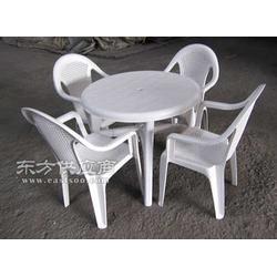 塑料椅子-带孔 竹编型 抗老化 厂家直销图片