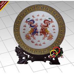 双龙戏珠纪念盘图片