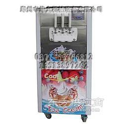 冷饮店用彩色冰淇淋机图片