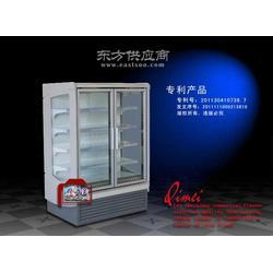 超市冷柜的主要零部件与结构图片