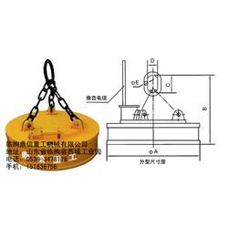 甘南除铁器|鼎信重工|电磁除铁器型号图片