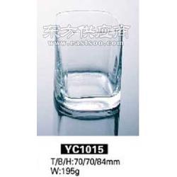 供应方形玻璃杯压吹制图片