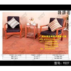 海边实木桌椅 实木桌椅 木制家具最好的品牌图片