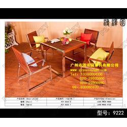 【北京实木桌椅】 茶实木桌椅 质量好低尽在溥泽园图片