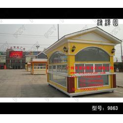 【实木售卖车】、户外实木售卖车、适用于小贩买卖图片