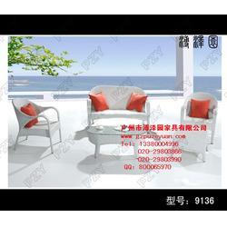 生产藤制家具-藤制家具-广州户外家具溥泽园图片
