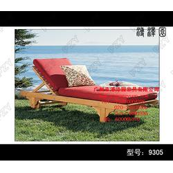 汕頭戶外沙灘椅,實木躺椅供應,海邊戶外沙灘椅圖片
