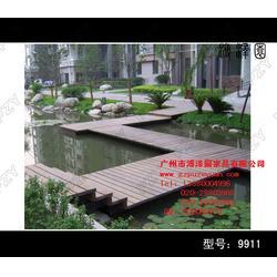 木制景观平台_广西木制景观_溥泽园家具图片