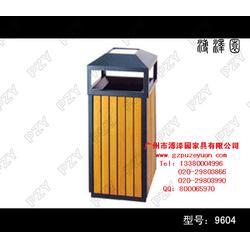 广场木制垃圾桶,南昌木制垃圾桶,特色环保家具图片