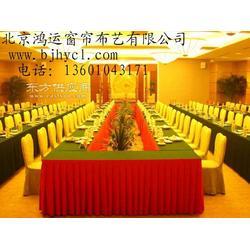 餐厅椅子套酒店台布会议室桌布定做印字桌套会所台布影院排椅套酒楼椅子套定做图片