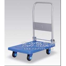 折叠式静音手推车 富阳塑料搬运车 承重200公斤图片
