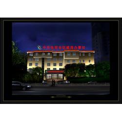 门头广告牌 兰天光电科技 山东制作门头广告牌图片