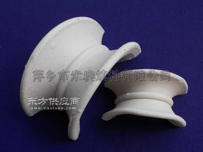 陶瓷矩鞍环 供应76mm陶瓷矩鞍环50mm陶瓷矩鞍环