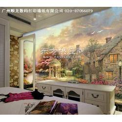 弱溶剂荔枝纹墙纸PVC条纹墙纸银色压纹墙纸图片