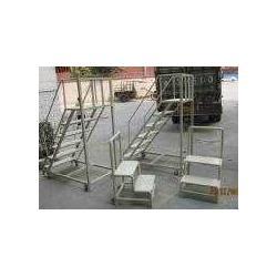专业供应移动登高梯生产 非标移动登高梯定做 物流登高梯厂家图片