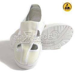 SPU底防静电四孔革鞋 防静电四孔工作鞋图片