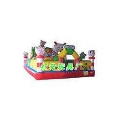 喜羊羊乐园充气城堡-蹦蹦床-淘气堡-红升游乐设备图片