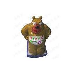 摇摆机-熊二摇摇乐-摇篮车-红升游乐设备图片