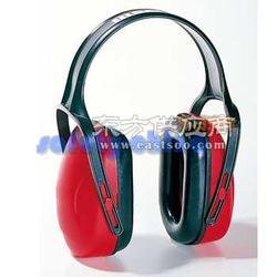 霍尼韦尔 Mach1红色经济型头戴式耳罩图片