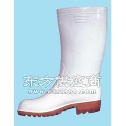 防油防酸碱雨鞋 高筒雨鞋 白色食品靴图片