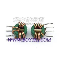 立式共模电感T1065-80UH 四脚磁环电感 电感线圈 大电流电感图片