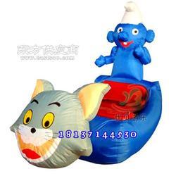 儿童充气电动车 儿童电瓶玩具车图片