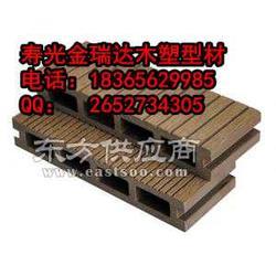 厂家直供寿光金瑞达木塑型材PE木塑10020户外地板图片
