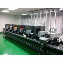 香港炬业不干胶标签轮转印刷机6色图片