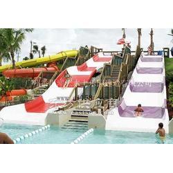 潮流水上乐园设备之儿童组合滑梯图片