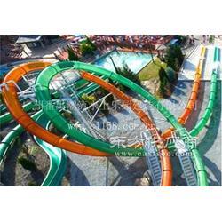 潮流厂家定制水上设备长隆水上乐园大回环滑梯HT-40图片