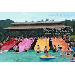 潮流水上乐园设备之儿童宽滑梯图片
