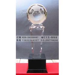 各项体育比赛奖杯定做 足球俱乐部水晶奖杯定做图片