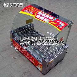 创宇七管烤肠机 全自动滚轴式烤热狗机 烤火腿肠图片