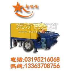 小型混凝土输送泵发泡水泥输送泵细石混凝土泵视频图片