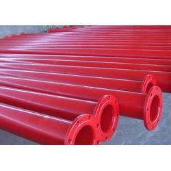 天津涂塑钢管-富诚涂塑污水钢管-dn150涂塑钢管图片