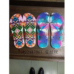 EVA拖鞋数码彩印机,PVC人字拖平板数码喷墨印花机设备厂图片