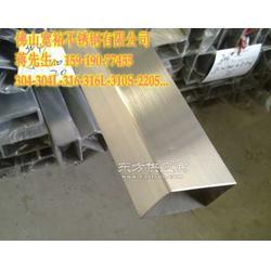 镜面201不锈钢矩形管35-40玫瑰金 304方通钛金图片
