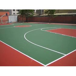 黔东丙烯酸球场-亚强体育丙烯酸球场-丙烯酸球场施工图片