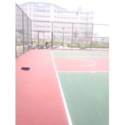 硅pu篮球场,硅pu网球场施工,硅pu篮球场施工图片